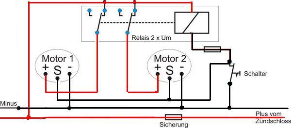 Wischermotoren mit Stopstellung anschließen - boote-forum.de - Das ...