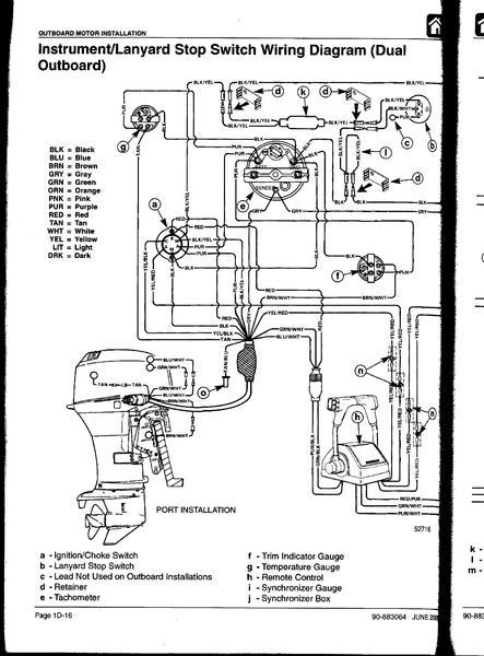 Einhebelschaltung Mercury Plant 22 Strom-Schaltbild - boote-forum.de ...