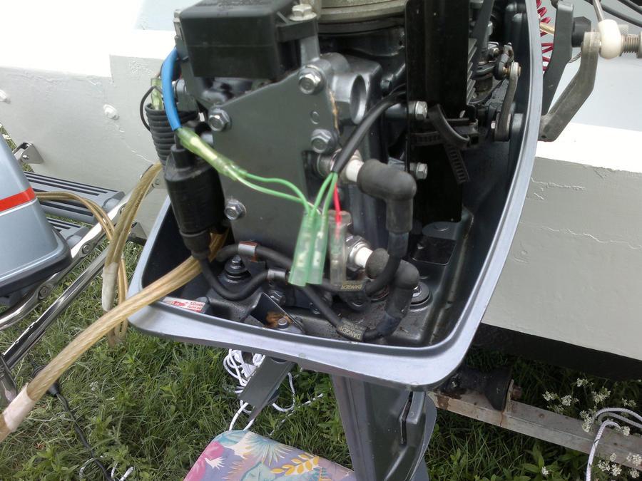 Lichtmaschine an Bordnetz anschließen YAMAHA 6PS Motor ? - boote ...