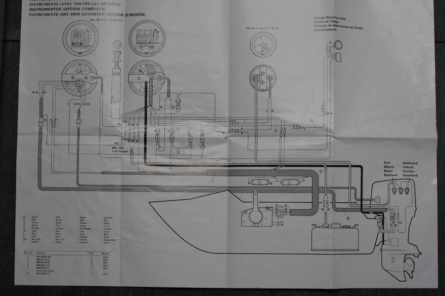 Anschlussplan f. Yamaha Anzeigegeräte - boote-forum.de - Das Forum ...
