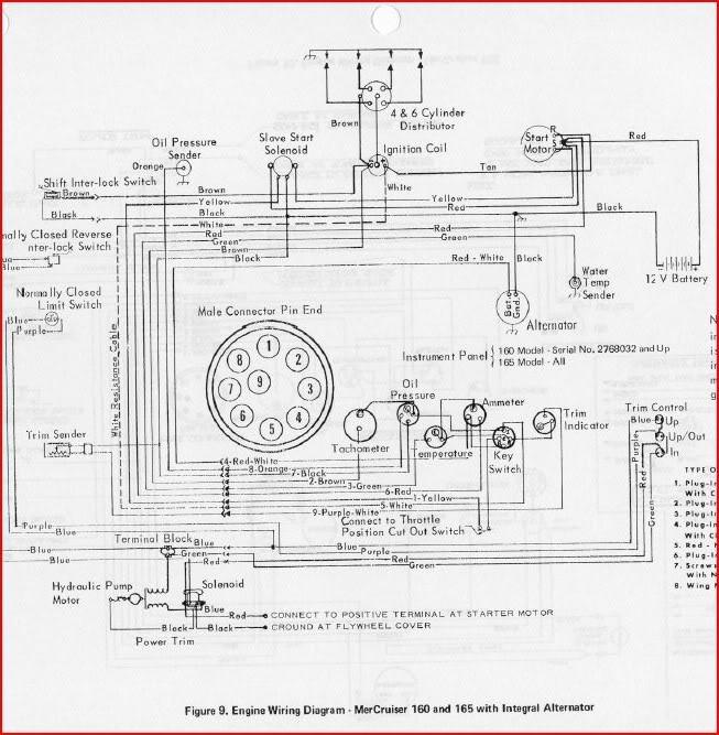 Mercruiser 470 Alternator Conversion Wiring Diagram : Mercruiser charging system imageresizertool