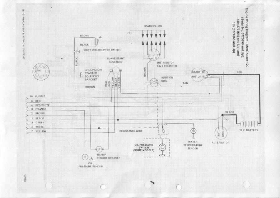 Mercruiser 165 2 Kabel??? - boote-forum.de - Das Forum rund um Boote