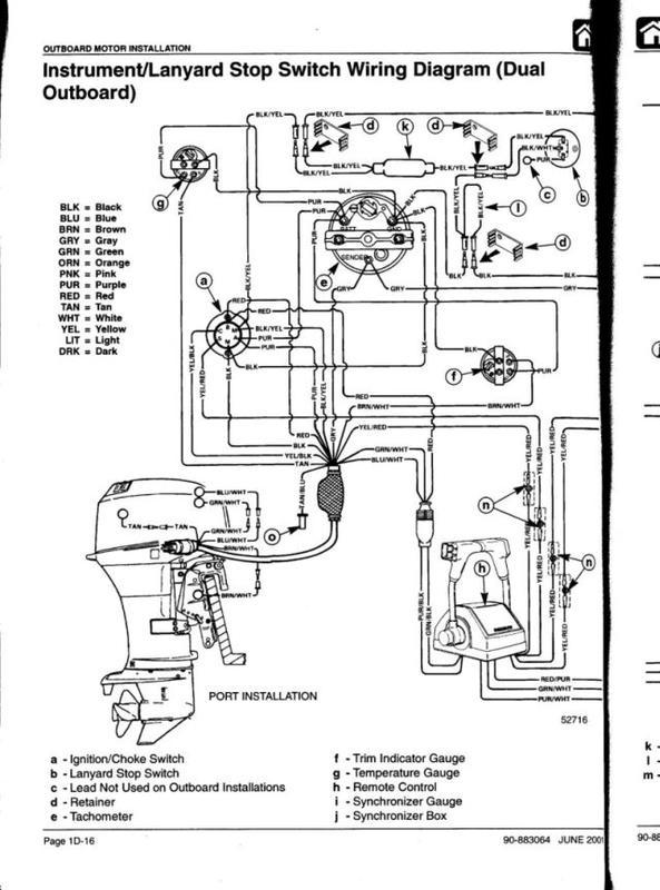 Elektroschaltplan Mercury 60PS - boote-forum.de - Das Forum rund um ...