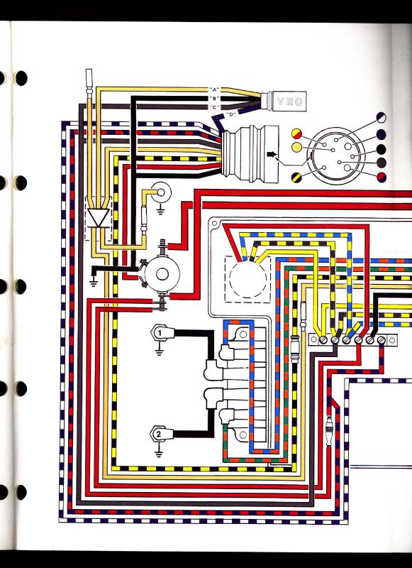 Evinrude 50 PS 50272C Elektrik Anschlüße - boote-forum.de - Das ...