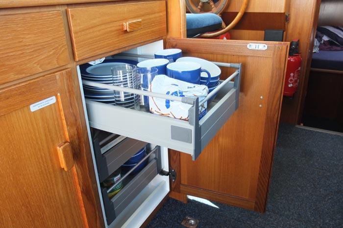Schubladen für küchenschränke  tricks und tipps für organisation der küchen schubladen ...