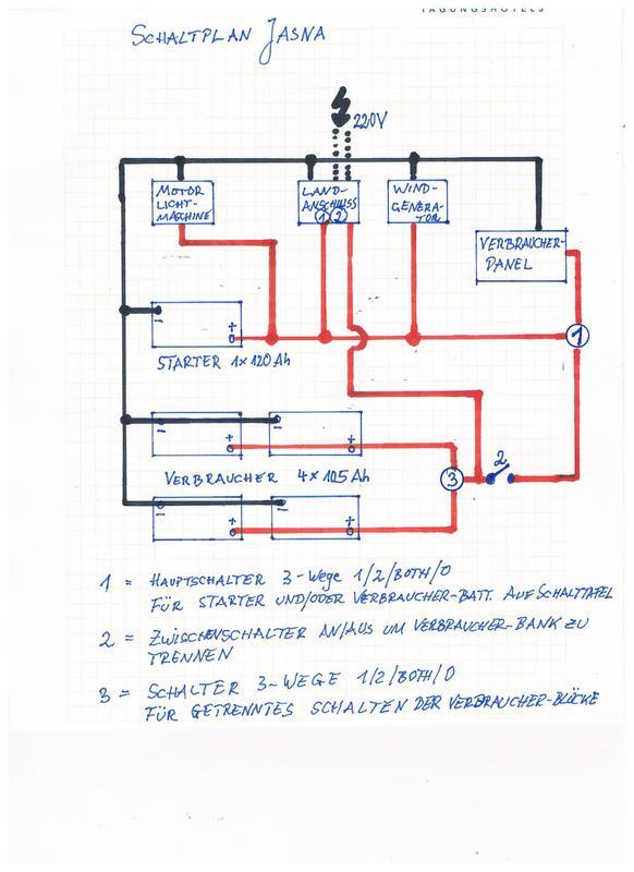 Batteriewahlschalter - welche Batterie wird geladen? - boote-forum ...