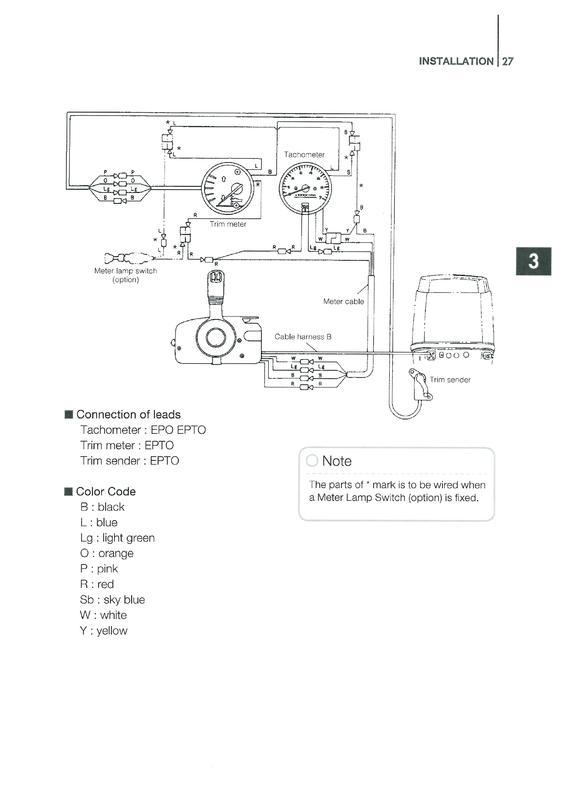 VDO Viewline Drehzahlmesser an Tohatsu M40D2 - boote-forum.de - Das ...