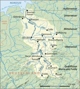 Klicken Sie auf die Grafik für eine größere Ansicht  Name:Die Weser.jpg Hits:726 Größe:68,6 KB ID:437175
