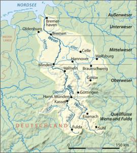 Klicken Sie auf die Grafik für eine größere Ansicht  Name:Die Weser.jpg Hits:737 Größe:68,6 KB ID:437175