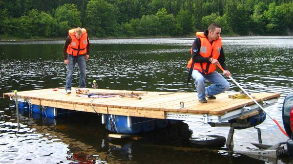 Bootssteg Selber Bauen Wer Hat Tipps Boote Forum De Das Forum