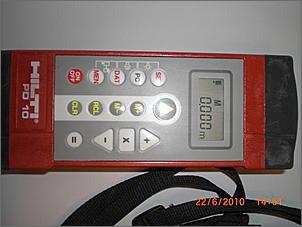Hilti Pd 10 Laser Entfernungsmesser : Hilti laser distanzmessgerät pd10 boote forum.de das forum rund